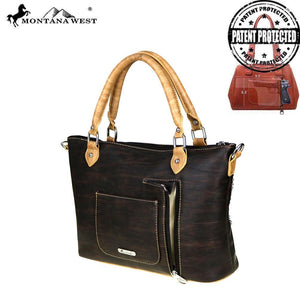 MW531G-8345 Montana West 12 Gauge Concho Collection Concealed Handgun Tote/Crossbody