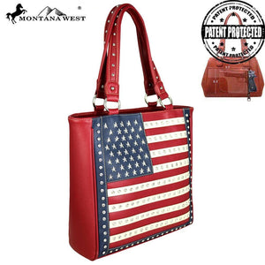 US04G-8113 Montana West American Pride Concealed Handgun Collection Tote