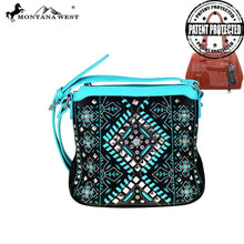 MW520G-8395 Montana West Aztec Collection Concealed Handgun Crossbody