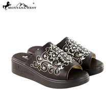 SH-014 Montana West Spiritual Collection Western Wedge Sandal Collection