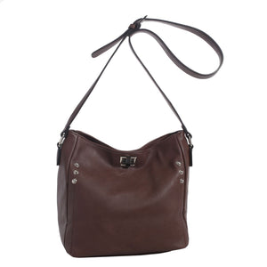 C90268L - Ali Concealed Carry Lock and Key Crossbody Bag