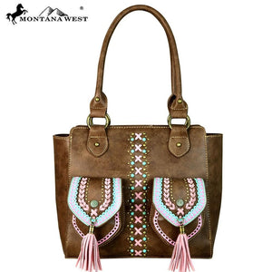 MW659-8241 Montana West Concho Collection Tote