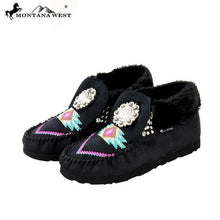 SBT-005 Montana West Moccasins Floral Concho Collection