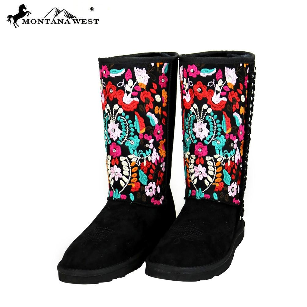 BST-034 Montana West Embroidered Collection Boots