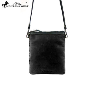 RLC-L005 Montana West 100% Real Leather Crossbody