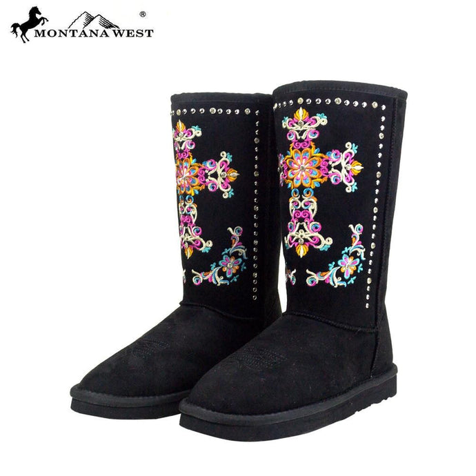 BST-033 Montana West Embroidered Collection Boots