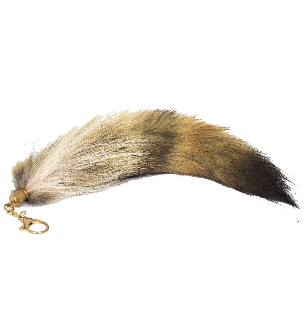 Fox Tail Keychain - Bag Charm