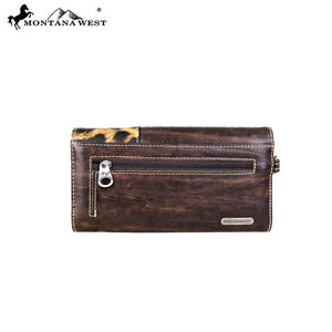 MW672-W018 Montana West Concho Collection Wallet/Wristlet