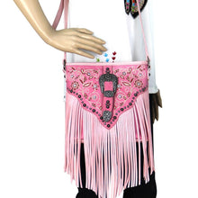 MW689-8360 Montana West Fringe Collection Crossbody