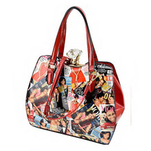 PA0022 Michelle Obama Printed Handbag