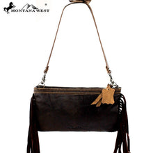 RLC-L011 Montana West 100% Real Leather Clutch