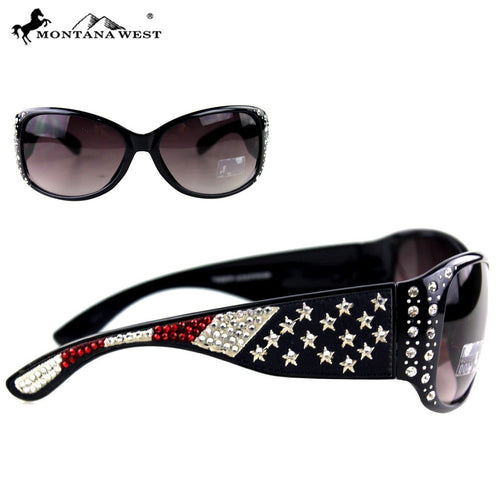 SGS-US02 Montana West US Pride Collection Sunglasses