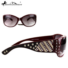 SGS-US03 Montana West US Pride Collection Sunglasses