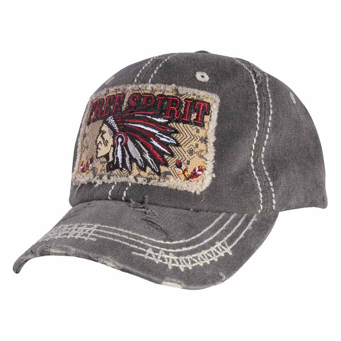 51a763f5652 Peacock Embroidered Stitch Multi Color Baseball Cap. Regular price  9.99 ·  FREE SPIRIT Embroidery Cotton Cap
