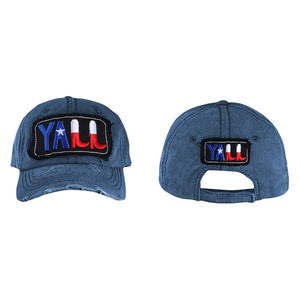 T13YAL01 Y'ALL Baseball Cap
