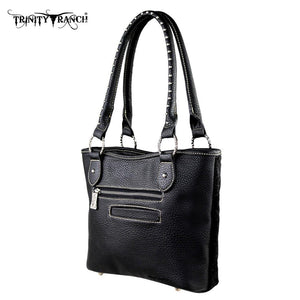 TR13-L8005 Trinity Ranch Hair-on Leather Collection Handbag