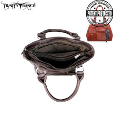 TR48G-8461 Trinity Ranch Hair-On Concho Collection Concealed Handgun Collection Tote/Crossbody