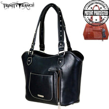 TR63G-8005 Trinity Ranch Tooled Leather Collection Concealed Carry Tote