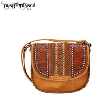 TR70-8360 Trinity Ranch Tooled Leather Collection Crossbody