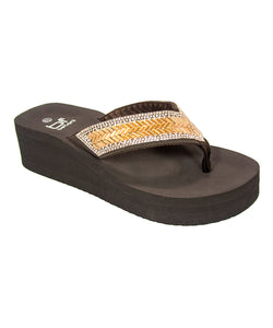 WOMEN EVA THONG SANDAL : EVELYN-30