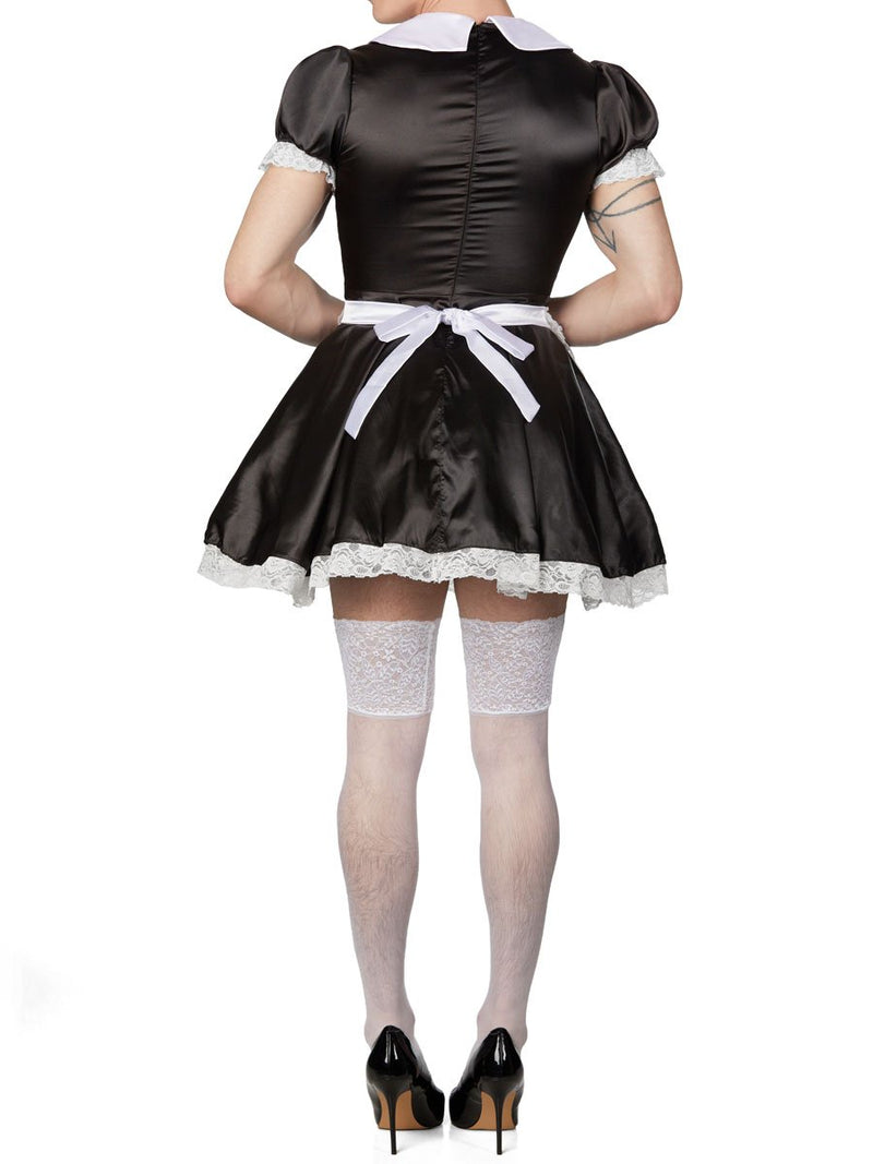 Men's black maid dress