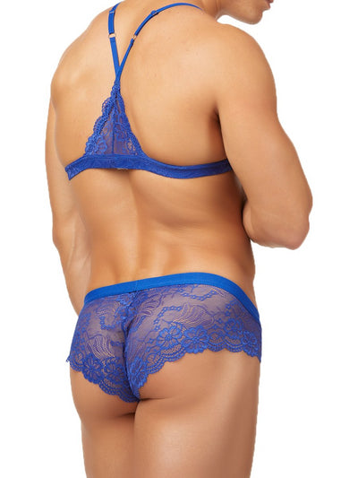 men's lace bra