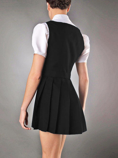 Men's Sexy Fantasy School Girl Costume Dress