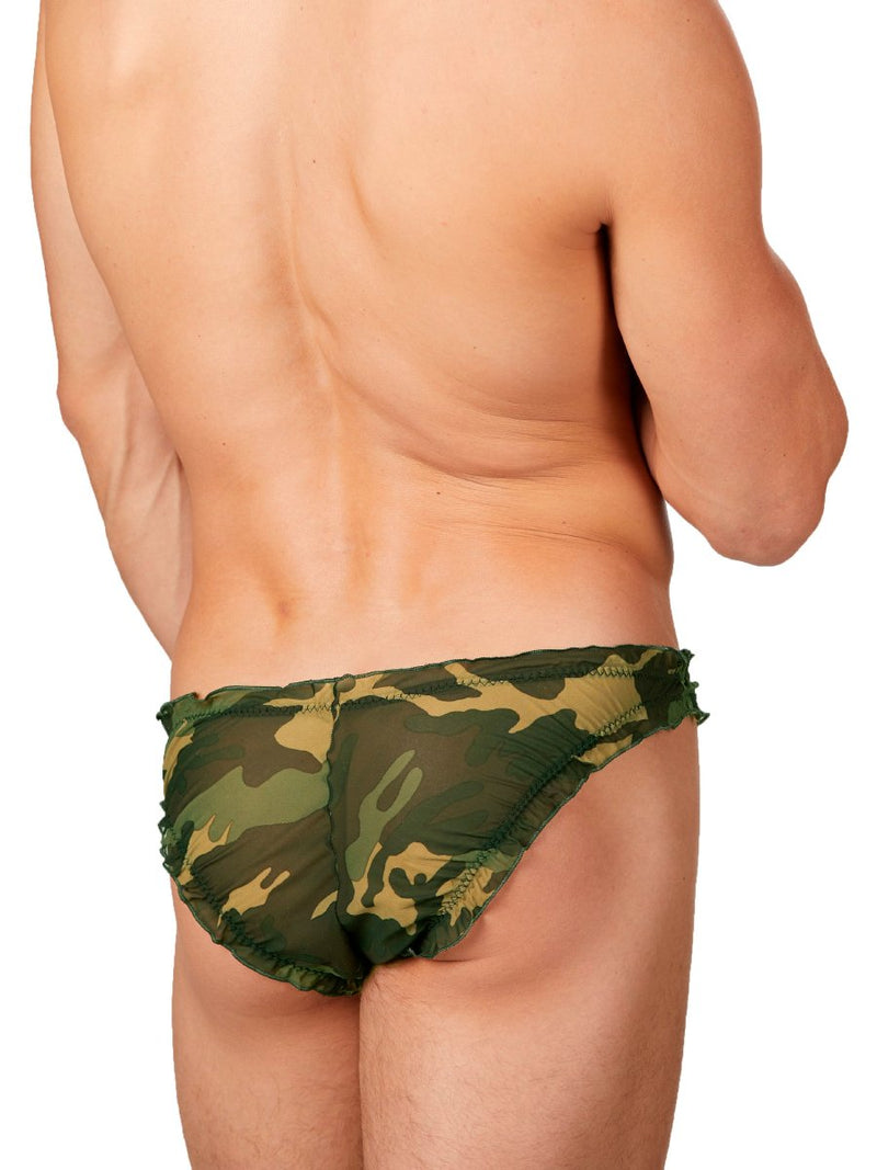 Men's Camoflage Briefs