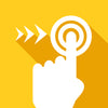 Progressive touch control gold icon