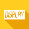 Digital Display gold icon