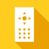 Remote control gold icon