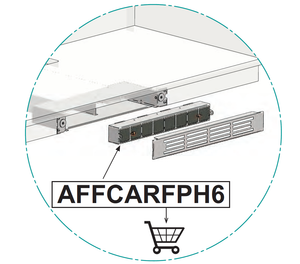 Airforce AFFCARFPH6 Ducting Carbon Filter For KRFH6 Filtering Outlet
