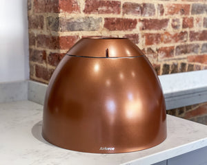 45cm Copper Island Lamp Cooker Hood - Airforce New Moon - Showroom
