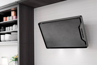 Airforce GRES F153 80cm Flat Wall Mounted Cooker Hood - Grey Stone