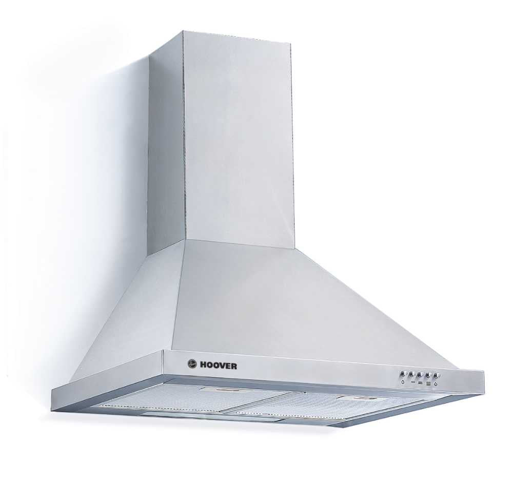 Hoover HCE160X WALL MOUNTED 60cm CHIMNEY HOOD - Stainless Steel