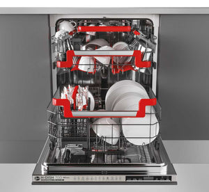 Hoover HDIN 4S613PS-80 60cm 16 PLACE SETTING FULLY INTEGRATED DISHWASHER