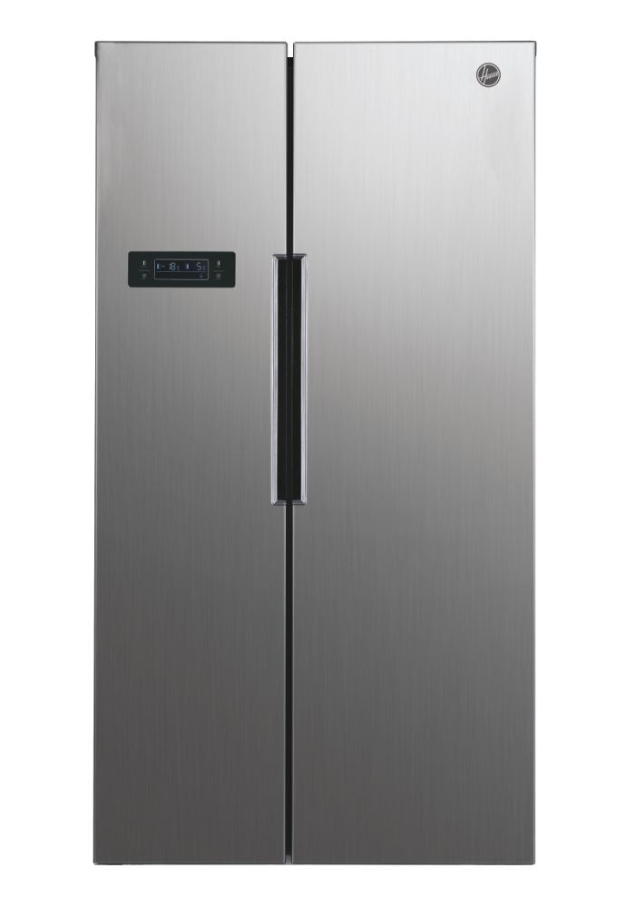 Hoover HHSBSO 6174XK 521 LITRE AMERICAN FRIDGE FREEZER - STAINLESS STEEL