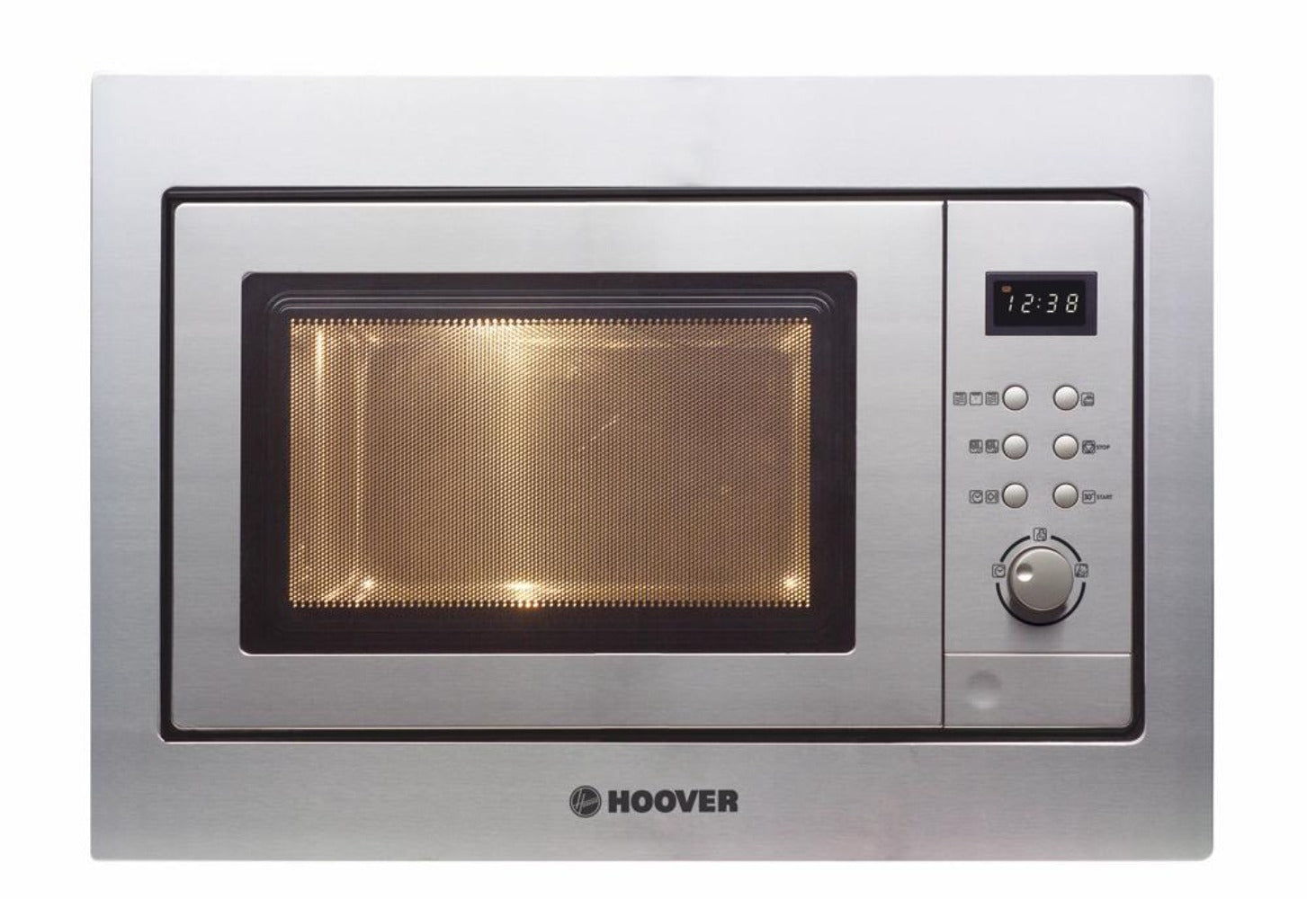 Hoover HMG 171X 17L BUILT-IN MICROWAVE OVEN AND GRILL - Stainless Steel