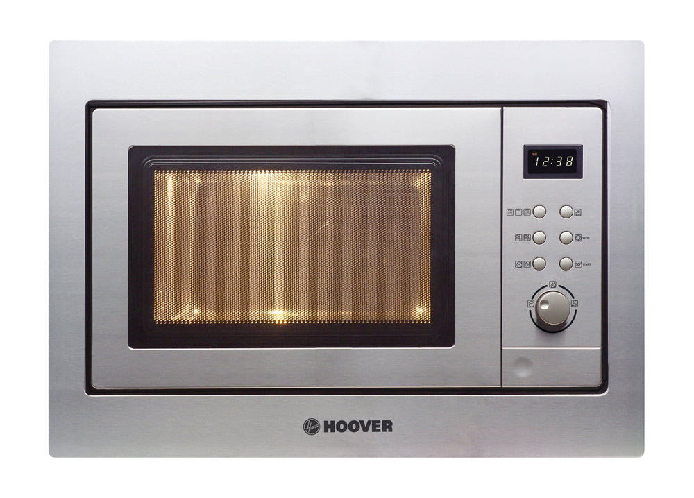 Hoover HMG201X 20 Litre BUILT-IN MICROWAVE OVEN AND GRILL - Stainless Steel