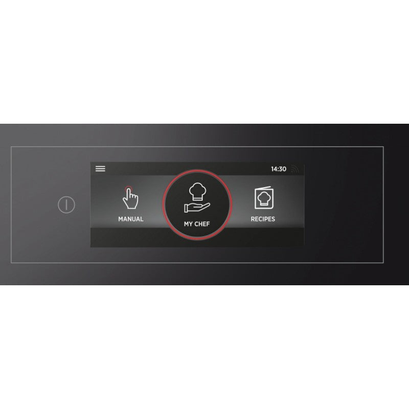 Hoover HOZP9177BI 60cm VOGUE PREMIUM WI-FI MULTIFUNCTION OVEN - Black Glass & Stainless Steel