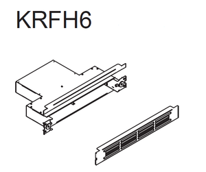 Airforce KRFH6 Filtering Outlet For Aspira Range
