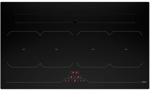 87cm Downdraft Induction Hob - Airforce Aspira Slim B2 Octa - Touch Controls