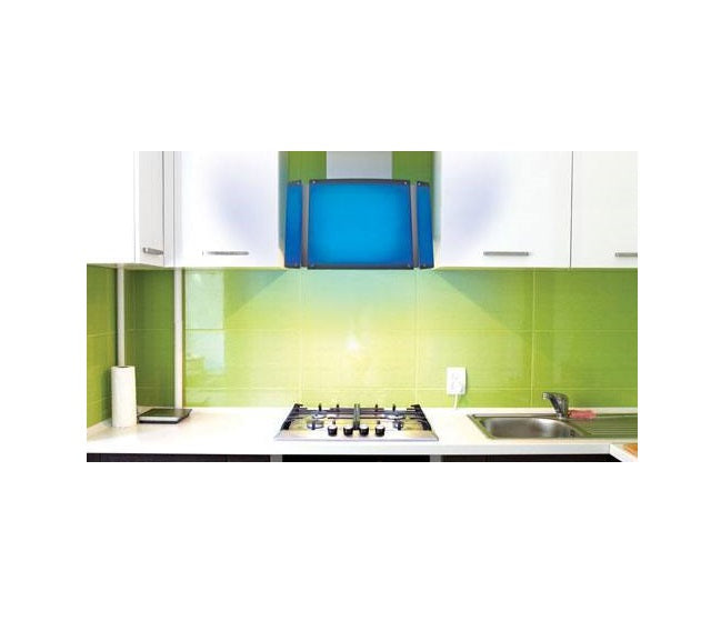 Baumatic Spectrum Designer 68cm Colour Changing Wall Mounted Cooker Hood