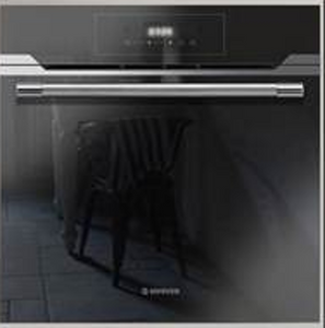 Hoover Vogue Premium HOZP717IN/E 60cm Multifunction Oven - Black Glass and Stainless Steel