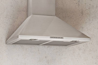 Airforce F0 60cm Chimney Cooker Hood & LED lights - Stainless Steel