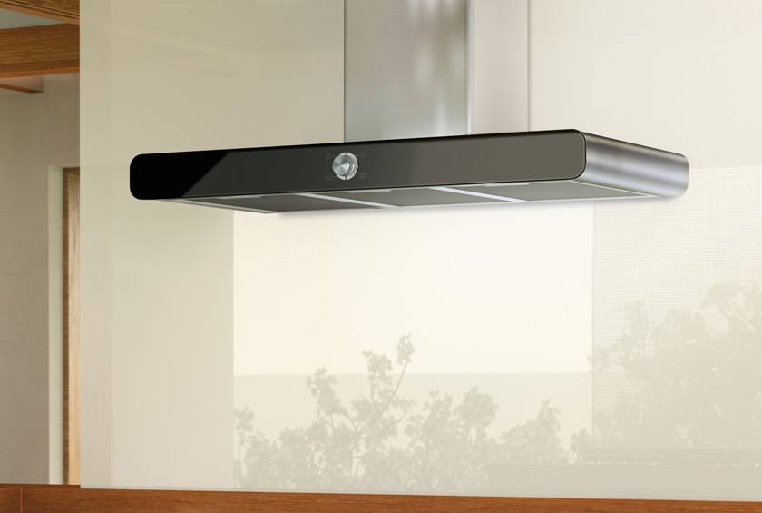 Airforce F122 Slim 90cm Wall Mounted Designer Cooker Hood