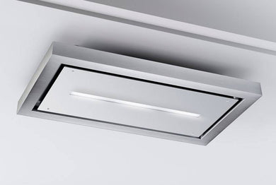 Airforce F172 120cm Ceiling Cooker Hood with Remote Control - White
