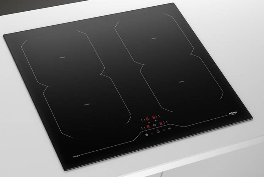 Airforce Integra 60 B2 octa 59 cm 4 Zone Induction Hob - Black