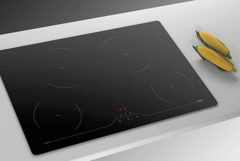 Airforce Integra 78 B2 78Cm 4 Zone Touch Control Induction Hob - Black