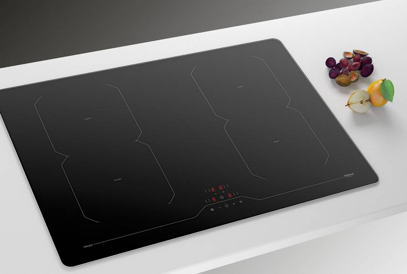 Airforce Integra 78 B2 octa 78Cm 4 Zone Induction Hob - Black